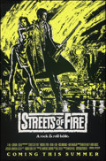 Movie Posters:Action, Streets of Fire (Universal, 1984). Rolled, Very Fine+....