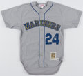Autographs:Jerseys, Ken Griffey Jr. Signed Seattle Mariners Limited Edition (9...
