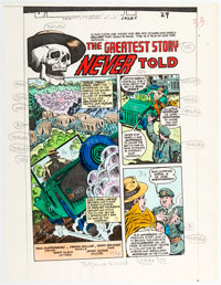 Tatjana Wood Color Guide Complete Stories Group of 10 (DC Comics, 1980). ... (Total: 10 Items)