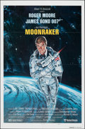 "Movie Posters:James Bond, Moonraker (United Artists, 1979). Folded, Very Fine+. International One Sheet (27"" X 41"") Teaser Style A, Dan Goozee Artwork..."