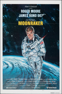 "Moonraker (United Artists, 1979). Folded, Very Fine+. International One Sheet (27"" X 41"") Teaser Style A, Dan..."