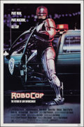 Movie Posters:Action, RoboCop (Orion, 1987). Folded, Fine/Very Fine. One...