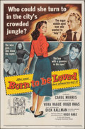 Movie Posters:Romance, Born to Be Loved (Universal International, 1959). Folded, ...