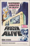 Movie Posters:Science Fiction, Frozen Alive (Feature Film Corporation of America, 1964). ...
