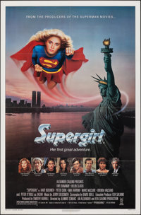 "Supergirl & Other Lot (Tri-Star, 1984). Folded, Fine/Very Fine. One Sheets (3) (27"" X 41""). Adventure..."