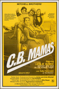 """C.B. Mamas (Mitchell Brothers Film Group, 1976). Folded, Very Fine+. Poster (23"""" X 35""""). Adult"""