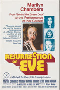 "Movie Posters:Adult, Resurrection of Eve (Mitchell Brothers Film Group, 1973). Folded, Very Fine+. Poster (24"" X 36""). Adult.. ..."