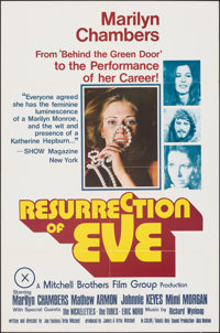 "Resurrection of Eve (Mitchell Brothers Film Group, 1973). Folded, Very Fine+. Poster (24"" X 36""). Adult"