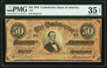 Confederate Notes:1864 Issues, T66 $50 1864 PF-8 Cr. 499 PMG Choice Very Fine 35 EPQ.. ...