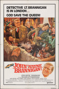Movie Posters:Crime, Brannigan & Other Lot (United Artists, 1975). Folded, Over...