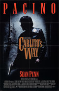 Movie Posters:Crime, Carlito's Way & Other Lot (Universal, 1993). Folded, Overa...