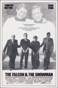 Movie Posters:Drama, The Falcon and the Snowman & Other Lot (Orion, 1985). Fold...