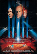 "Movie Posters:Science Fiction, The Fifth Element (Columbia, 1997). Folded, Very Fine-. Spanish Language International One Sheet (26.75"" X 39.75"") DS. Scien..."