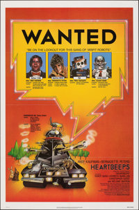 """Heartbeeps & Other Lot (Universal, 1981). Folded, Overall: Very Fine-. One Sheets (2) (27"""" X 41"""" & 27..."""
