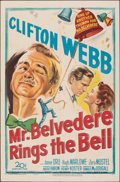 Movie Posters:Comedy, Mr. Belvedere Rings the Bell (20th Century Fox, 1951). Fol...