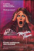 Movie Posters:Thriller, Murder by Phone (New World, 1982). Overall: Folded, Very F...