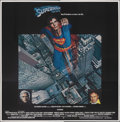 "Movie Posters:Action, Superman the Movie (Warner Bros., 1978). Folded, Very Fine. International Six Sheet (79.5"" X 81""). Action.. ..."