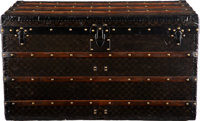 "Louis Vuitton Damier Ebene Coated Canvas Steamer Trunk Condition: 4 39"" Width x 22"" Height x 21.5"