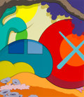 Prints & Multiples, KAWS (b. 1974). You Should Know I Know, 2015. Screenprint in colors on Wove paper. 37-1/4 x 32 inches (94.6 x 81.3 cm) (...