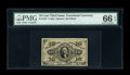 Fractional Currency:Third Issue, Fr. 1251 10c Third Issue PMG Gem Uncirculated 66 EPQ....