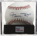 Autographs:Baseballs, Willie Mays Single Signed Baseball Gem Mint PSA 10. Gem Mint example of the Say Hey Kid's desirable signature. Ball has bee...