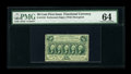 Fractional Currency:First Issue, Fr. 1310 50c First Issue PMG Choice Uncirculated 64....