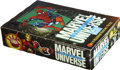 Memorabilia:Trading Cards, Marvel Universe Series III Trading Cards Unopened Wax Pack Box (SkyBox, 1992)....