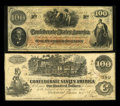 Confederate Notes:1862 Issues, Trans-Mississippi San Antonio Pair.. ... (Total: 2 notes)