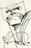 Original Comic Art:Sketches, Mark Texiera - Wolverine Sketch Original Art (1994)....