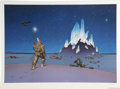 Original Comic Art:Miscellaneous, Moebius - Signed Limited Edition Print #85/500 (Stabur Graphics,1985)....