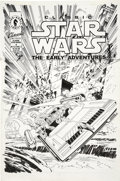 Original Comic Art:Covers, Rick Hoberg - Classic Star Wars The Early Adventures #4 CoverOriginal Art (Dark Horse, 1994). . ...