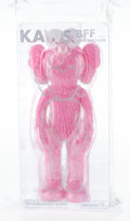 Collectible, KAWS (b. 1974). BFF Companion (Pink), 2018. Painted cast vinyl. 13-1/2 x 5 x 3-1/2 inches (34.3 x 12.7 x 8.9 cm). Open E...