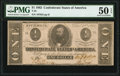 Confederate Notes:1862 Issues, T55 $1 1862 PF-7 Cr. 398 PMG About Uncirculated 50 EPQ.. ...