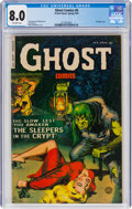 Golden Age (1938-1955):Horror, Ghost #6 (Fiction House, 1953) CGC VF 8.0 Off-white pages....