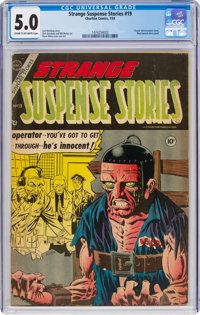 Strange Suspense Stories #19 (Charlton, 1954) CGC VG/FN 5.0 Cream to off-white pages