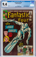 Silver Age (1956-1969):Superhero, Fantastic Four #50 (Marvel, 1966) CGC NM 9.4 Off-white to white pages....