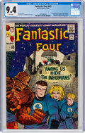 Silver Age (1956-1969):Superhero, Fantastic Four #45 (Marvel, 1965) CGC NM 9.4 White pages....