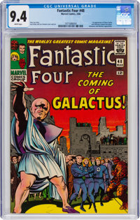 Fantastic Four #48 (Marvel, 1966) CGC NM 9.4 White pages