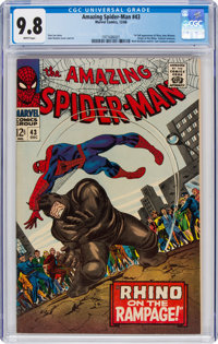 The Amazing Spider-Man #43 (Marvel, 1966) CGC NM/MT 9.8 White pages