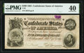 Confederate Notes:1864 Issues, T64 $500 1864 PF-2 Cr. 489 PMG Extremely Fine.. ...