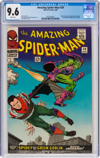 The Amazing Spider-Man #39 (Marvel, 1966) CGC NM+ 9.6 White pages
