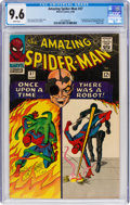 Silver Age (1956-1969):Superhero, The Amazing Spider-Man #37 (Marvel, 1966) CGC NM+ 9.6 White pages....