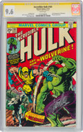 Bronze Age (1970-1979):Superhero, The Incredible Hulk #181 Signature Series - Signed by Stan Lee (Marvel, 1974) CGC NM+ 9.6 White pages....