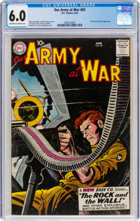Our Army at War #83 (DC, 1959) CGC FN 6.0 Off-white to white pages