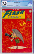 Golden Age (1938-1955):Superhero, Flash Comics #104 (DC, 1949) CGC FN/VF 7.0 Off-white to white pages....