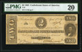 Confederate Notes:1863 Issues, T61 $2 1863 PF-6 Cr. 471 PMG Very Fine 20.. ...