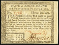 Rhode Island July 2, 1780 $3 Choice About New