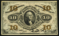 Fr. 1251 10¢ Third Issue Extremely Fine-About New