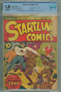Startling Comics #10 (Better Publications, 1941) CGC Apparent SA GD- 1.8 Off-white pages