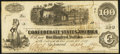 Confederate Notes:1862 Issues, T40 $100 1862 Choice About Uncirculated.. ...